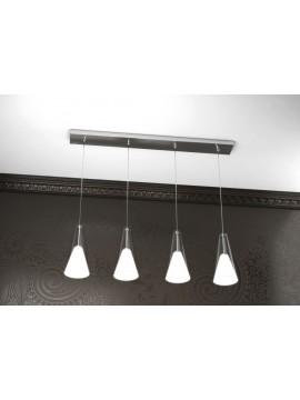 Modern chandelier 4 lights tpl design 1097-s4