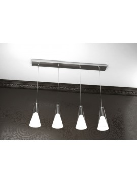 Modern chandelier 4 lights tpl design 1097-s4