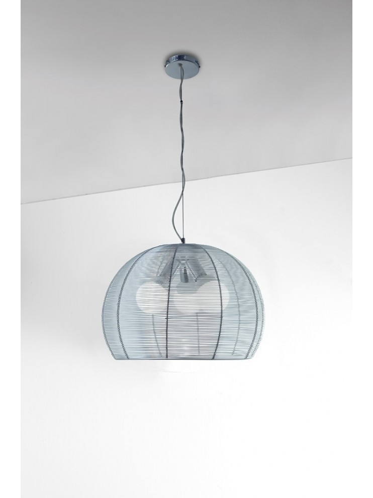 Lampadario 3 luci moderno alluminio tpl 1064-s50
