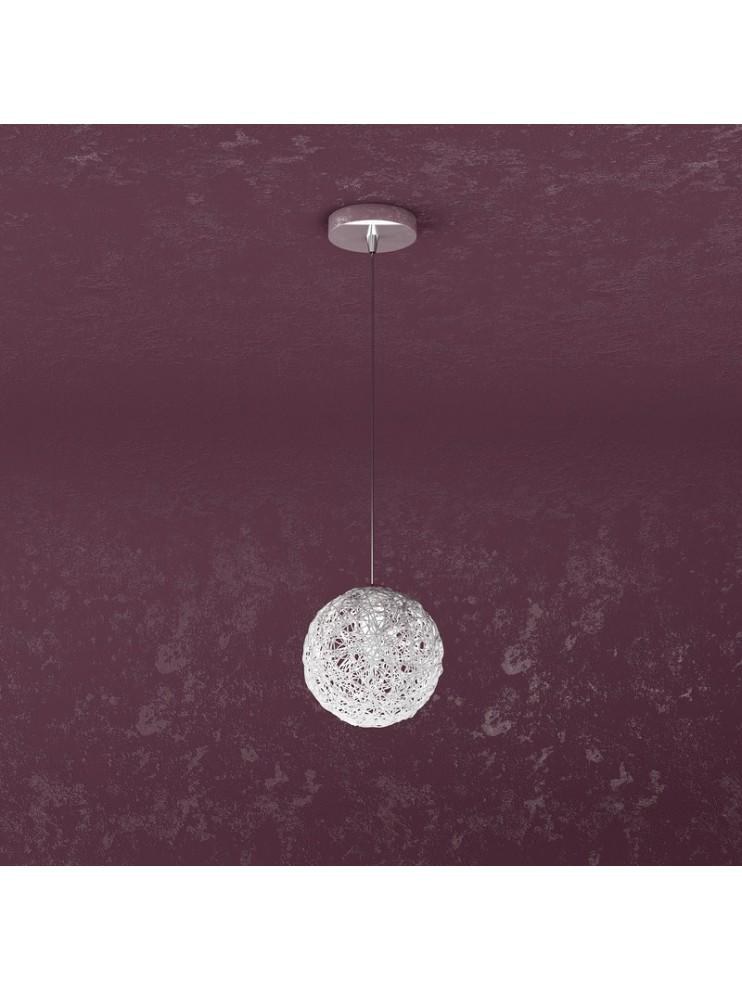 Lampadario moderno 1 luce in alluminio tpl 1098-s1go