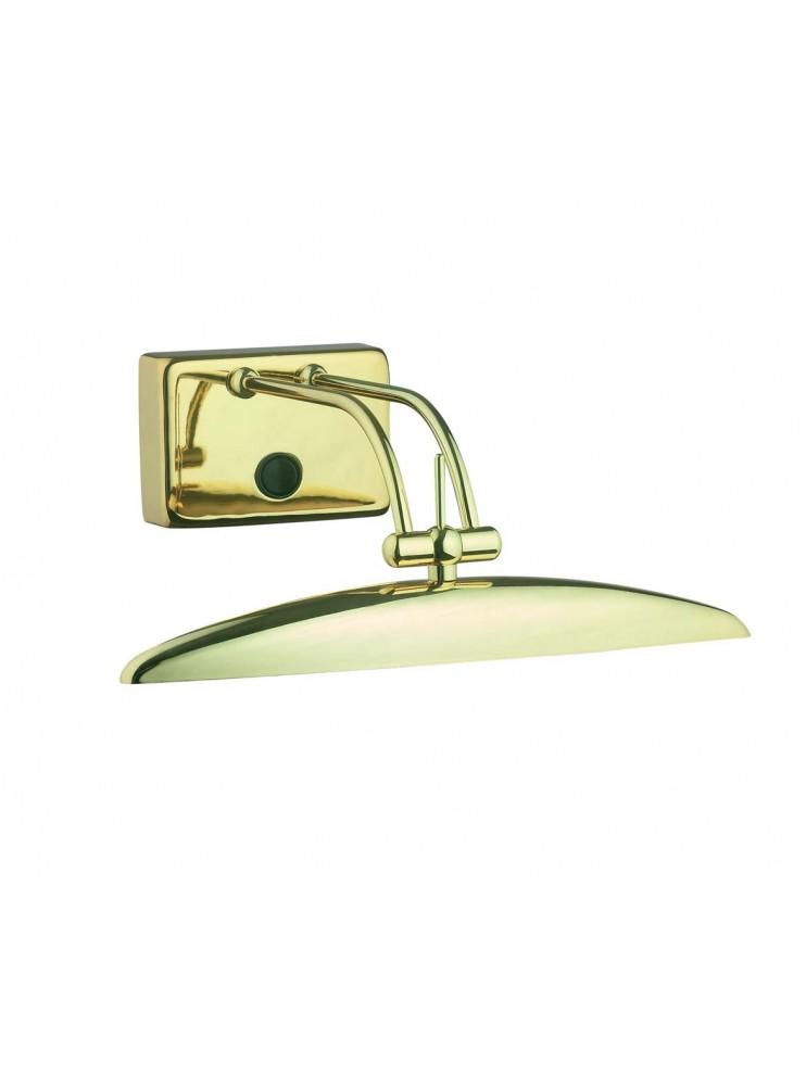Applique classico a 2 luci Mirror 20 ottone