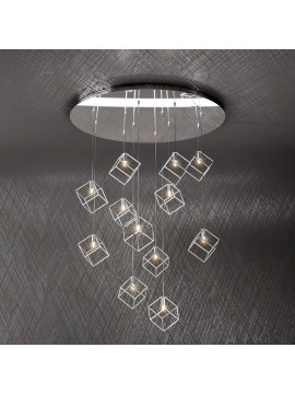 Modern chandelier 12 lights tpl design 1125-s12