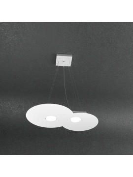 Modern chandelier 2 lights tpl design 1128-s2r