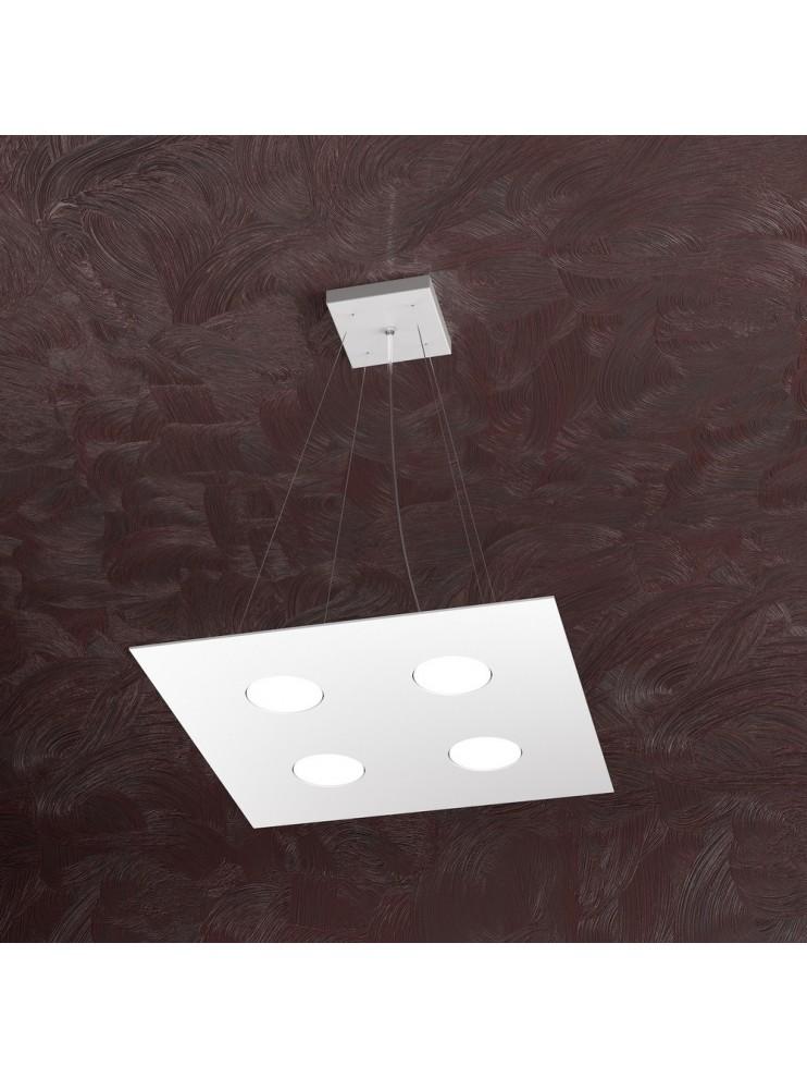 Modern chandelier 4 lights white design tpl 1127-s4