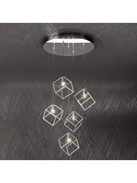 Modern chandelier 5 lights tpl design 1125-s5