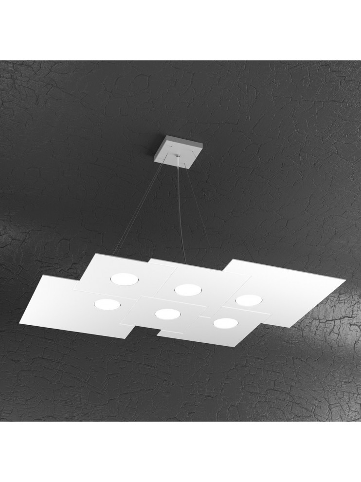 Modern chandelier 6 lights tpl design 1129-s6r