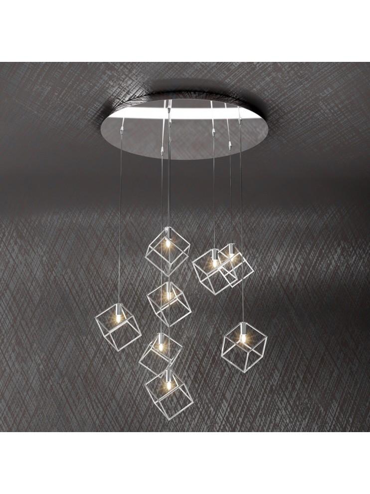 Modern chandelier 8 lights desidn tpl 1125-s8