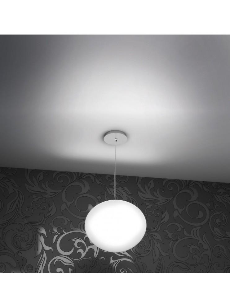 Lampadario moderno 1 luce a sfera tpl 1092-s35