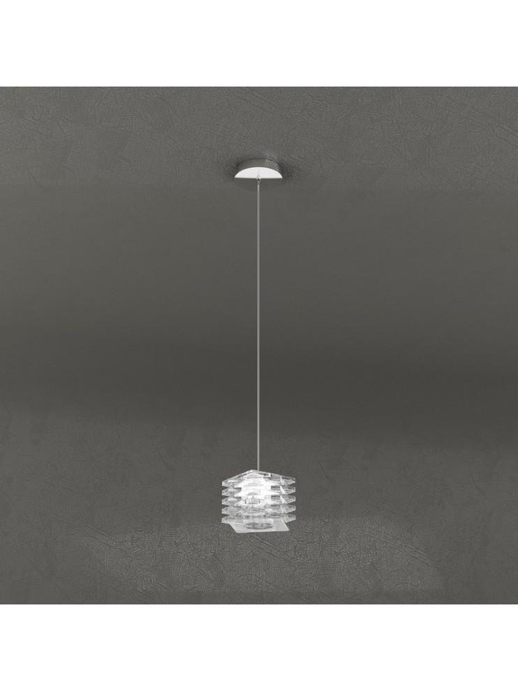 Lampadario moderno 1 luce design tpl 1126-s1