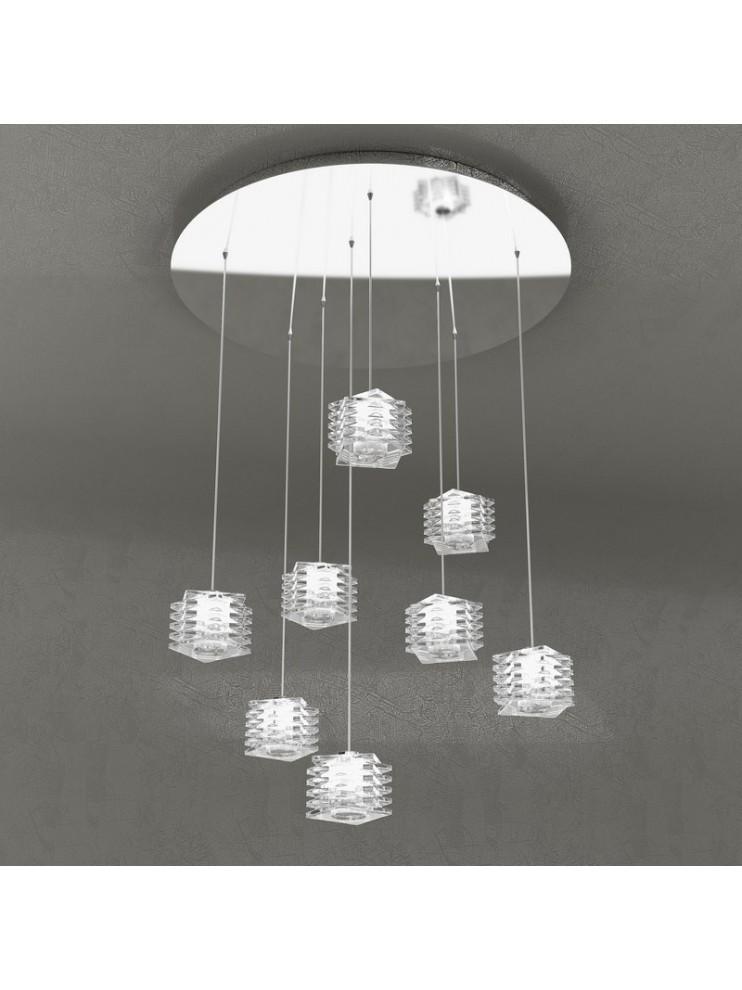 Modern chandelier 8 lights tpl design 1126-s8