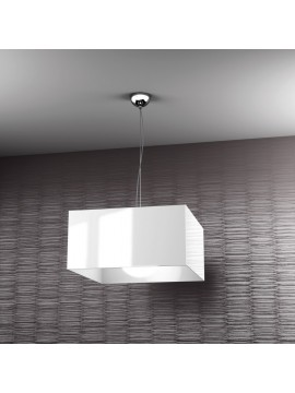 Modern chandelier 1 light white tpl 1111-s1bi
