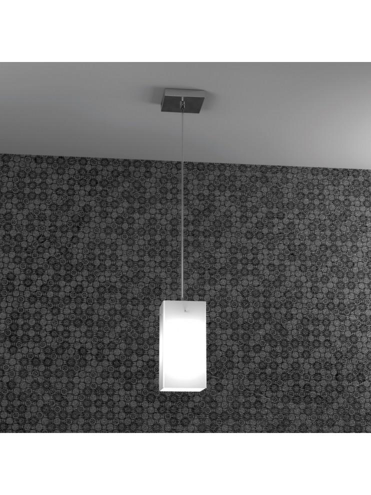 Modern glass chandelier 1 light tpl 1105-s1