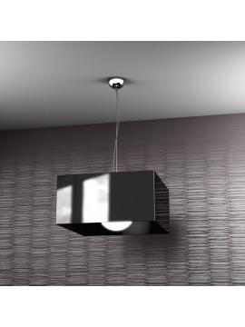 Modern black chandelier 1 light tpl 1111-s1ne