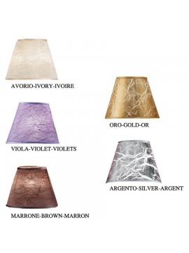 Lumetto moderno con cristalli 1 luce 2553-L cromato