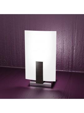 Modern table lamp 1 light wood wengè tpl 1019-pw
