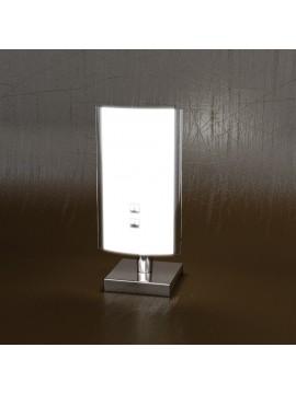 Modern light 1 light glass white tpl 1088-pbi