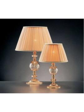 Lumetto piccolo in cristallo oro classico 1 luce Design Swarovsky Anita