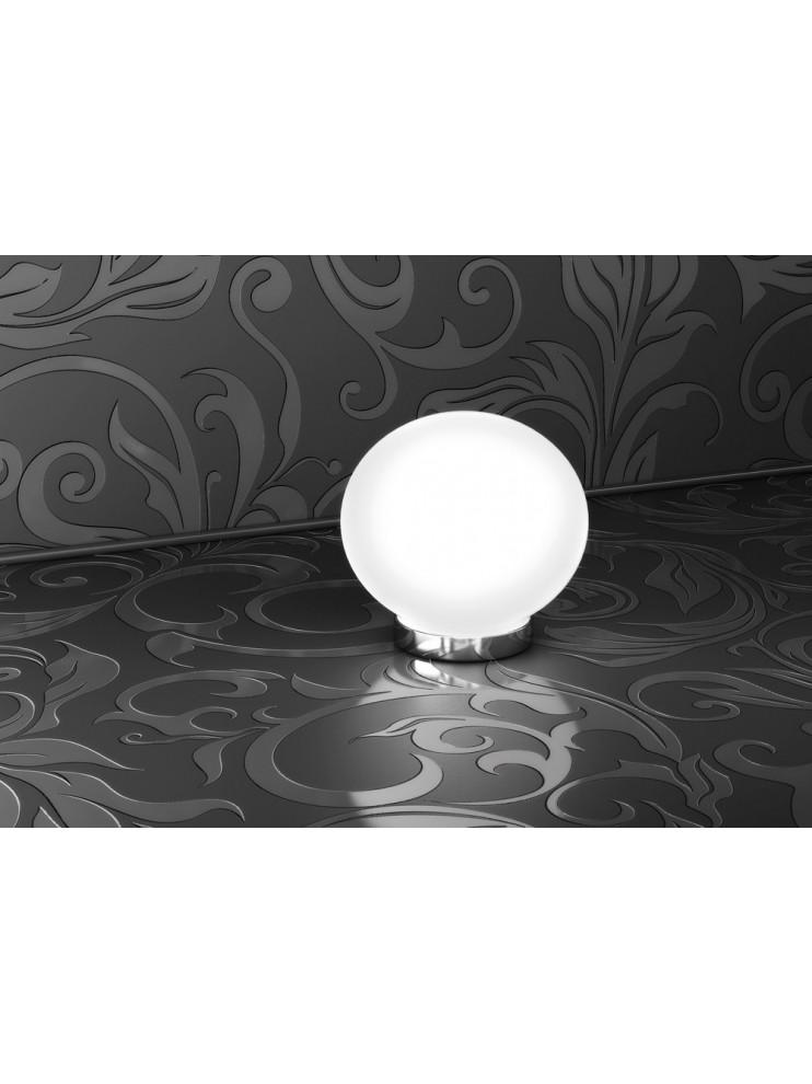 Lumetto moderno 1 luce bianco tpl 1092-p