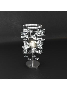 Lumetto moderno 1 luce con cristalli tpl 1110-p