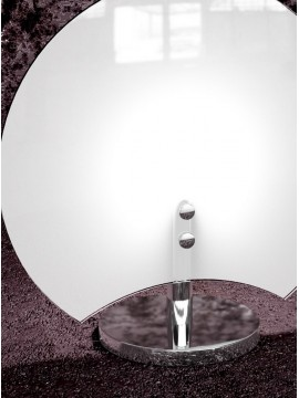 Modern table lamp 1 light white glass tpl 1114 / p