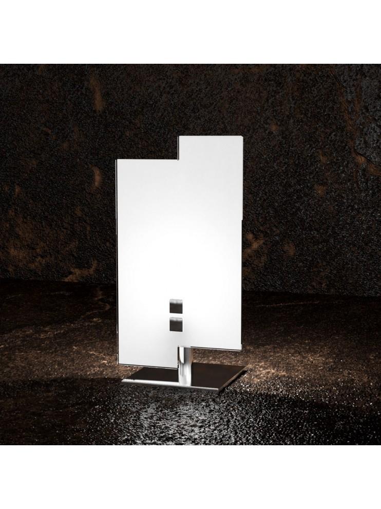 Modern table lamp 1 light white glass tpl 1121 / p