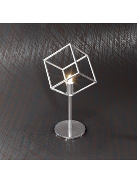 Modern table lamp 1 light chrome design tpl 1125-p