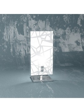 Lumetto moderno 1 luce design in vetro tpl 1123-p