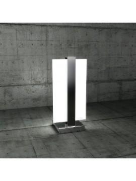 Lumetto moderno 1 luce vetro nero tpl 1106-pne