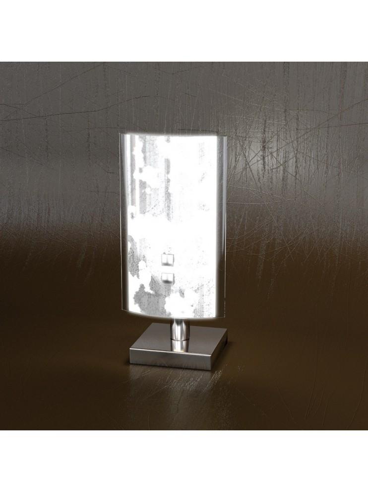 Modern table lamp 1 light silver leaf tpl 1088-pfa