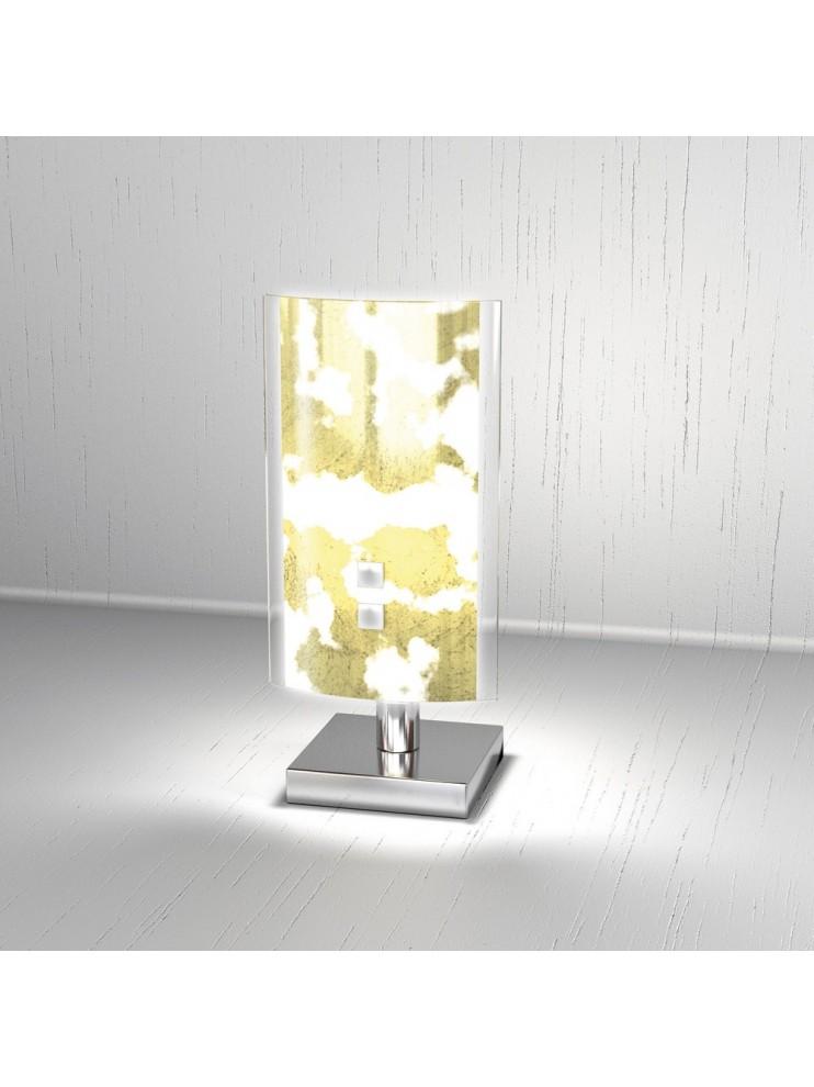 Modern table lamp 1 light gold leaf tpl 1087-pfo