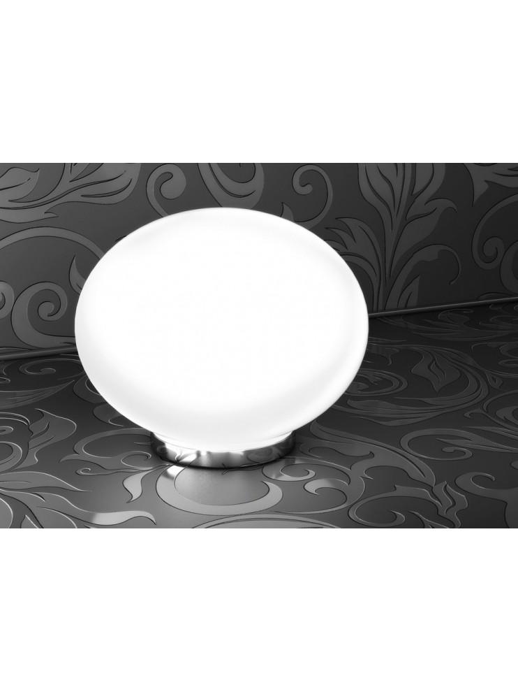 Modern lamp 1 light white sphere tpl 1092-lt