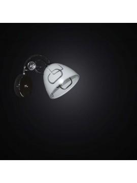 Applique moderno cromato 1 luce BGA 2464-A1