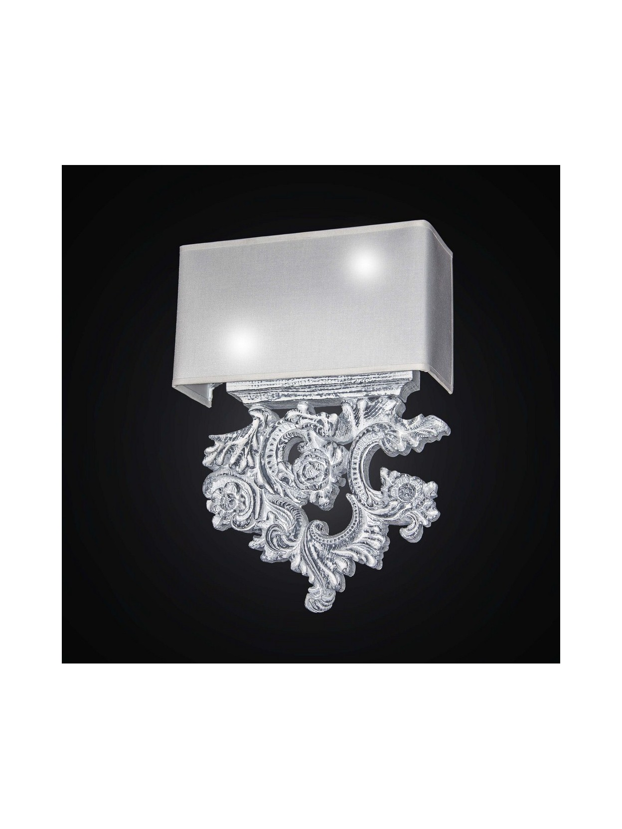 Shabby Chic E Moderno.Shabby Chic Modern Wooden Wall Light 2 Lights Bga 2657 Ac