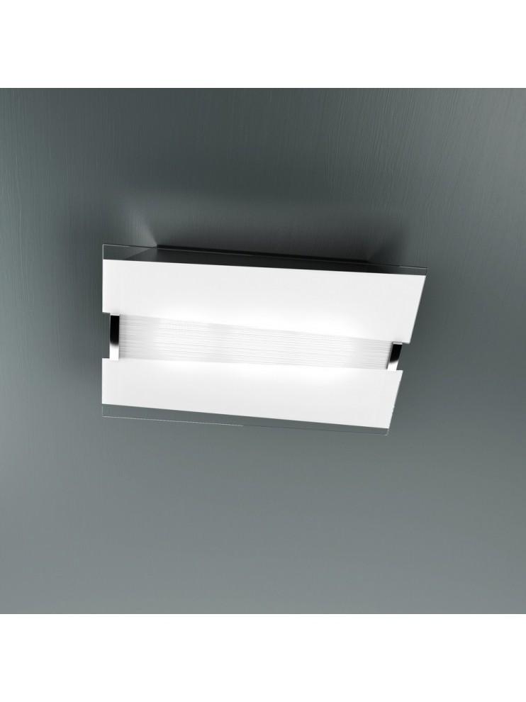 Modern ceiling light 3 lights in tpl glass 1074-pl50b