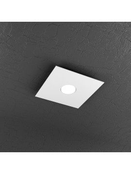 Plafoniera moderna 1 luce bianca design tpl 1129-pl1