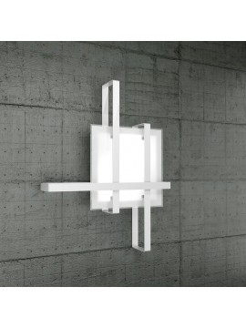 Modern ceiling light 2 lights design tpl glass 1106-70bi