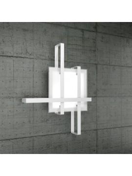 Plafoniera moderna 2 luci design vetro tpl 1106-70bi