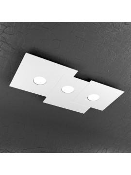 Plafoniera moderna 3 luci design tpl 1129-pl3r
