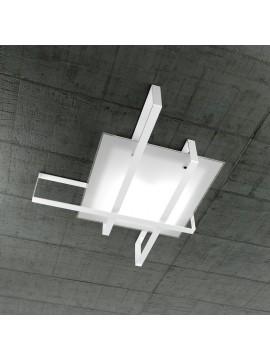 Plafoniera moderna 4 luci design tpl 1106-100bi