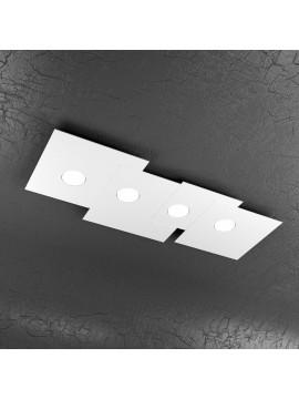 Plafoniera moderna 4 luci design tpl 1129-pl4r