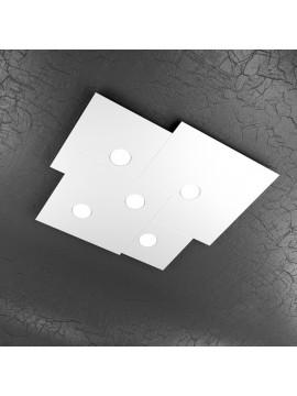 Plafoniera moderna 5 luci design tpl 1129-pl5