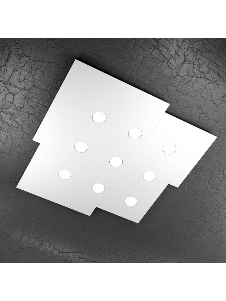 Plafoniera moderna 9 luci design tpl 1129-pl9
