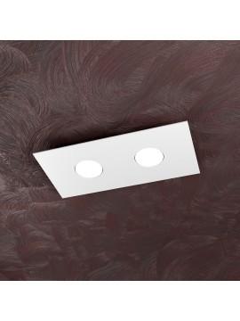 Plafoniera moderna 2 luci design tpl 1127-pl2r