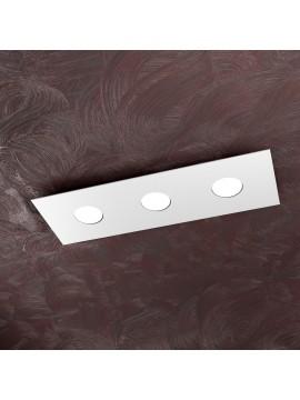 Plafoniera moderna 3 luci design tpl 1127-pl3r