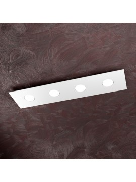 Modern ceiling light 4 lights tpl design 1127-pl4r white