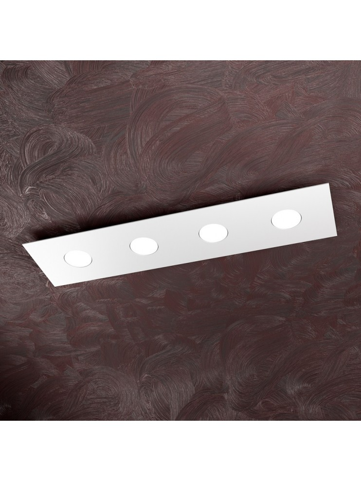 Modern ceiling light 4 lights tpl design 1127-pl4r white