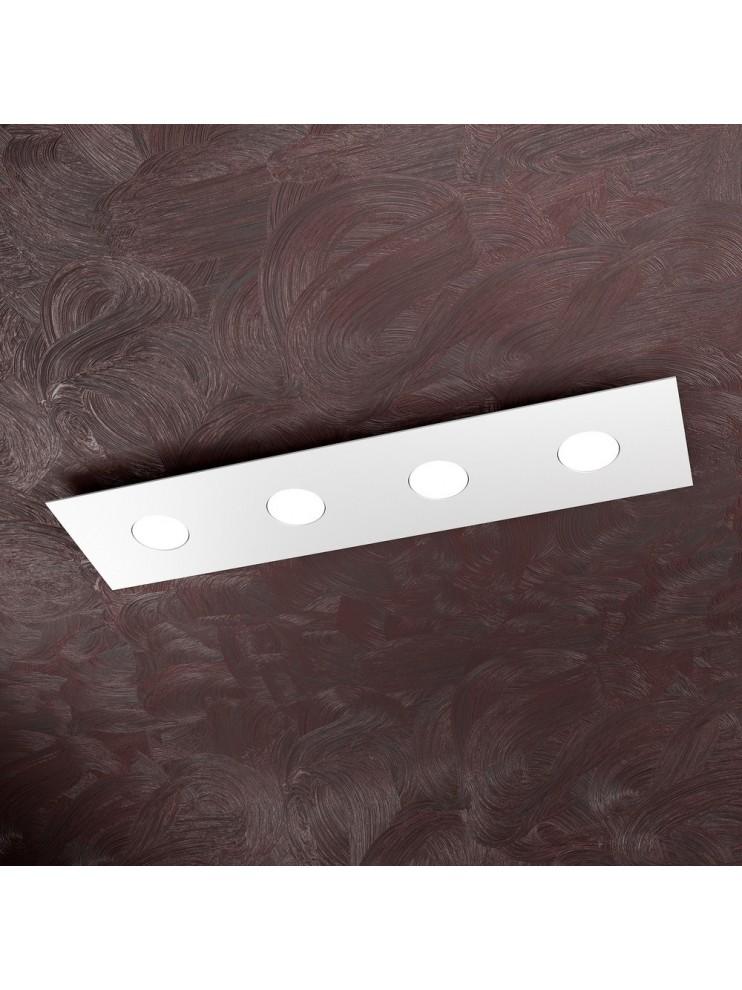 Plafoniera moderna 4 luci design tpl 1127-pl4r