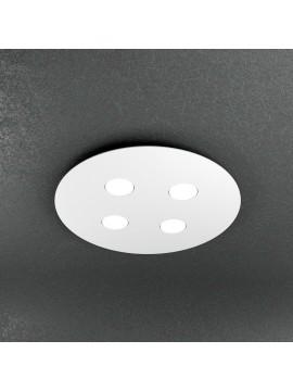 Plafoniera moderna 4 luci design tpl 1128-pl4t