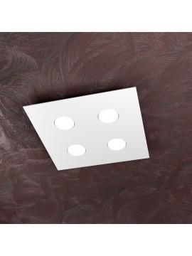 Plafoniera moderna 4 luci design tpl 1127-pl4