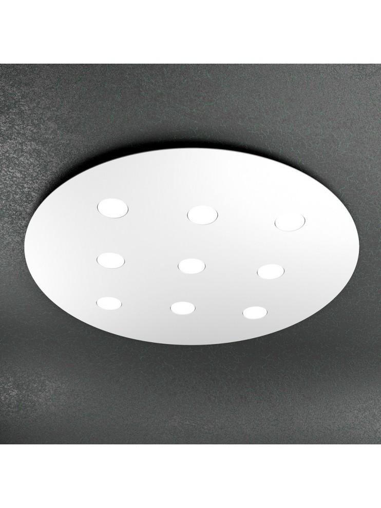 Plafoniera moderna 9 luci design tpl 1128-pl9t